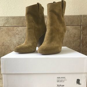 Isabel Marant Camel Roxann Ankle Boot/Booties